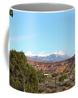 La Sal Mountains Coffee Mug