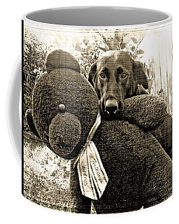 Labrador And Holiday Teddy Coffee Mug