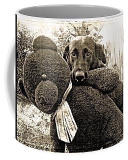 Labrador And Holiday Teddy Coffee Mug