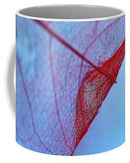 Lace Leaf 3 Coffee Mug