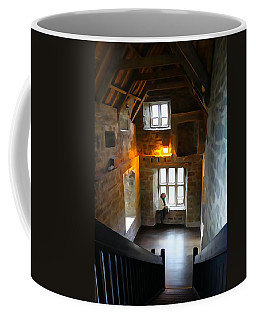 Coffee Mug featuring the photograph Lady In Waiting  by Charlie and Norma Brock