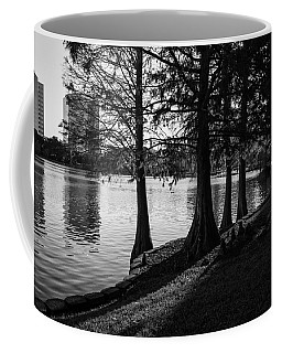 Lake Eola Water Edge Coffee Mug by Lynn Palmer