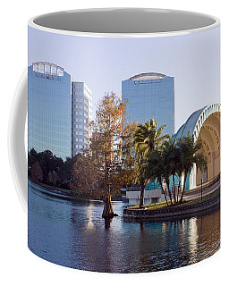 Lake Eola's  Classical Revival Amphitheater Coffee Mug by Lynn Palmer
