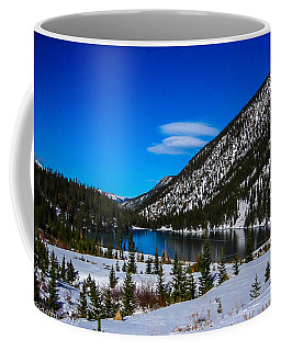Coffee Mug featuring the photograph Lake In The Mountains by Shannon Harrington