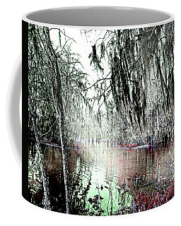 Coffee Mug featuring the photograph Lake Martin Swamp by Lizi Beard-Ward