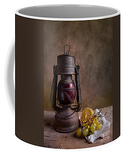 Lamp And Fruits Coffee Mug