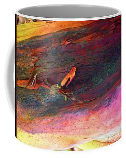 Coffee Mug featuring the digital art Landing by Richard Laeton