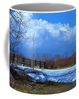 Landscape  Snow Scene Coffee Mug