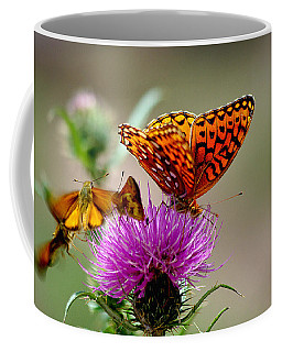 Late For Lunch Coffee Mug by Vicki Pelham
