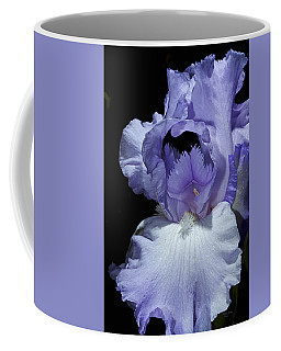 Lavender Blue Iris Coffee Mug