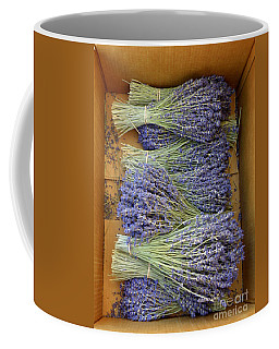 Coffee Mug featuring the photograph Lavender Bundles by Lainie Wrightson