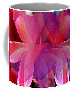 Lavender Plumerias Coffee Mug