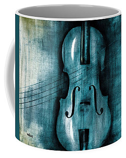 Le Violon Bleu Coffee Mug