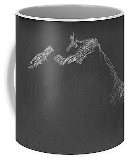 Leaning Coffee Mug