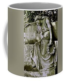 Left In Peace Coffee Mug by Valerie Rosen