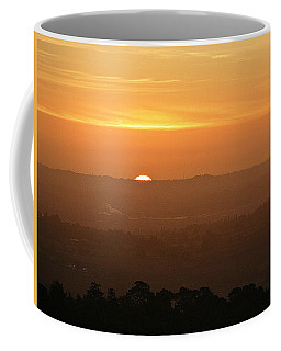 Leicestershire Sunrise Coffee Mug by Linsey Williams