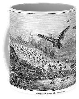 Lemming Migration Coffee Mug