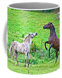 Leopard V Standardbred Coffee Mug