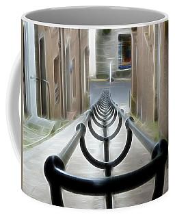 Coffee Mug featuring the photograph Lerwick Lanes by Lynn Bolt