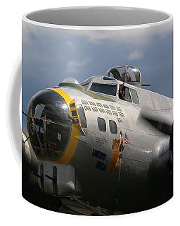Liberty Belle B17 Bomber Coffee Mug by Ken Brannen