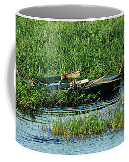 Coffee Mug featuring the photograph Life Along The Nile by Vivian Christopher