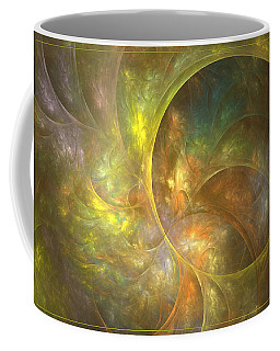 Life Of Leaf - Abstract Art Coffee Mug