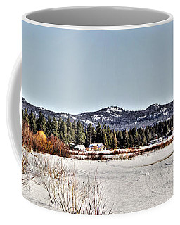Coffee Mug featuring the photograph Life On The Lake by Janie Johnson