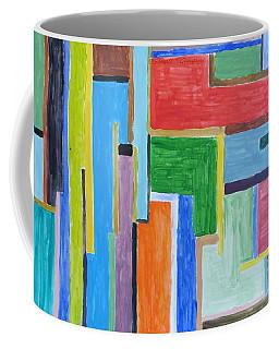 Coffee Mug featuring the painting Life by Sonali Gangane