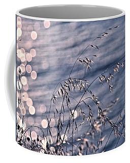 Light Bubbles And Grass Coffee Mug