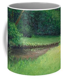 Coffee Mug featuring the painting Light In August by Joe Winkler