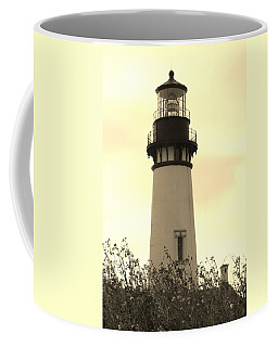 Coffee Mug featuring the photograph Lighthouse Tranquility by Athena Mckinzie