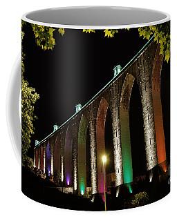 Lisbon Historic Aqueduct By Night Coffee Mug