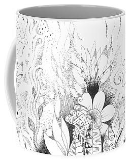 Listening To Silence Coffee Mug