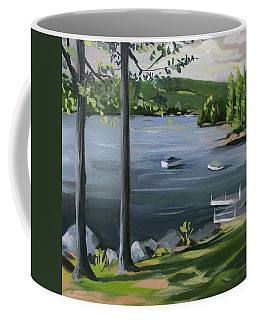 Little Squam In June Coffee Mug