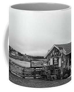 Lobster House Bw Coffee Mug