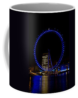 London Eye And River Thames View Coffee Mug