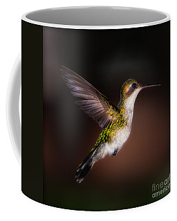 Lone Hummingbird Coffee Mug
