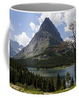 Lone Tree At Sinopah Mountain Coffee Mug