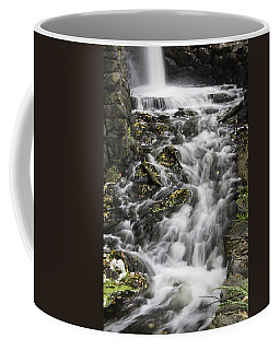 Coffee Mug featuring the photograph Longfellow Grist Mill Waterfall by Betty Denise