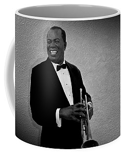 Louis Armstrong Bw Coffee Mug