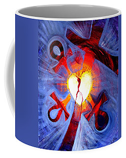 Love - In Three ... For All Coffee Mug