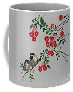 Coffee Mug featuring the painting Love by Sonali Gangane