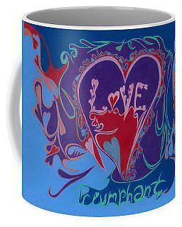 Love Triumphant 2nd Of 3  Coffee Mug