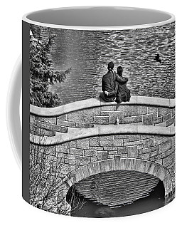 Lovers On A Bridge  Coffee Mug