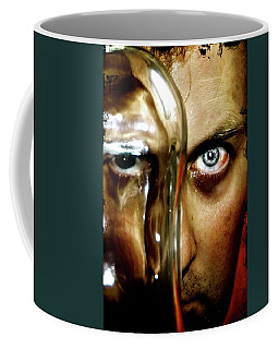 Coffee Mug featuring the photograph Mad Man by Pedro Cardona