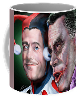 Mad Men Series  4 Of 6 - Romney And Ryan Coffee Mug