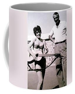 Mama Chris And Gary Cooper In Monte Carlo 1958 Coffee Mug