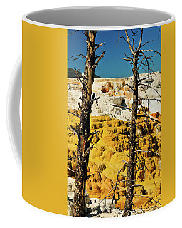 Mammoth Upper Terrace Coffee Mug by Greg Norrell