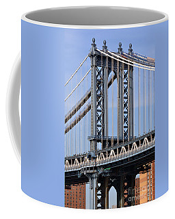 Manhattan Bridge3 Coffee Mug by Zawhaus Photography