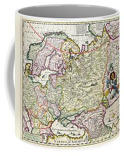Map Of Asia Minor Coffee Mug